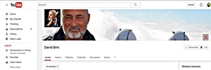 DAVID BRIN's you-tube channel