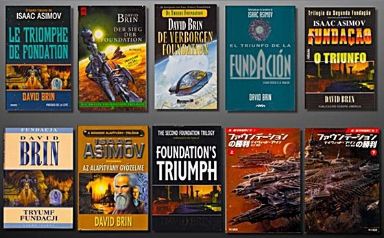 Foundation's Triumph's foreign editions