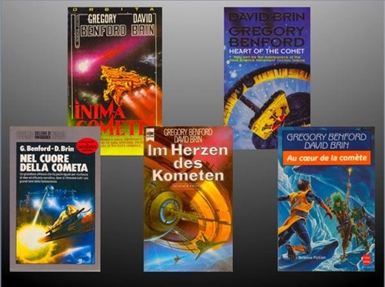 Heart of the Comet's foreign editions