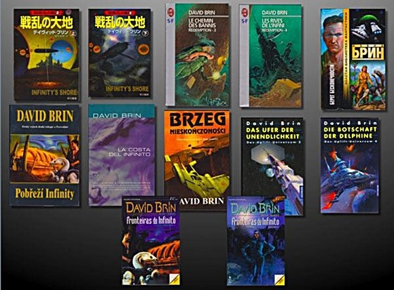 Infinity's Shore's foreign editions