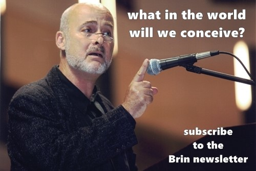 DAVID BRIN newsletter sign-up
