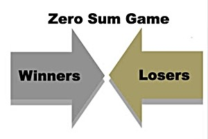 don't play the zero-sum game!