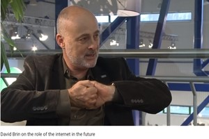 David Brin's internet connections