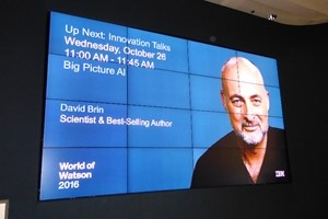 DAVID BRIN at World of Watson