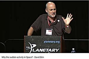 David Brin at the Planetary Society